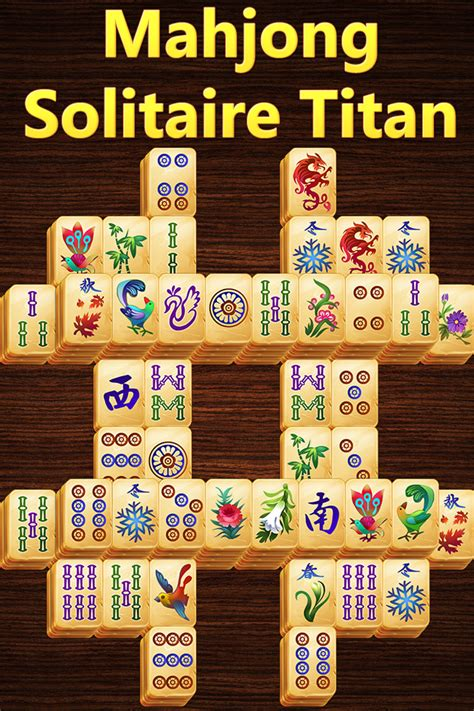 Mahjong Solitaire Tiles by Mahjong Titan For Iphone Android Kristanix