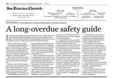 electromagnetic radiation safety