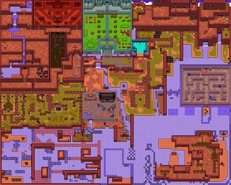 legend  zelda oracle  ages revneds video game maps