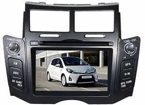 2din Toyota Yaris Radio Dvd Player Gps Nav Head Unit Yaris