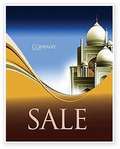 Islamic Architecture Sale Poster Template in Microsoft ...