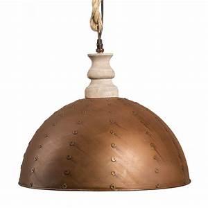 Große Kerzenständer Metall : gro e h ngelampe rusty braun d40cm metall u holz h ngeleuchte rostig industrial ebay ~ Indierocktalk.com Haus und Dekorationen