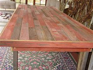 9 1 2 ft reclaimed barn wood harvest table by primitivearts With barnwood kitchen table for sale
