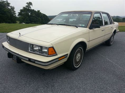 Buick Century Limited by 1985 Buick Century Limited Sedan Classic Buick Century