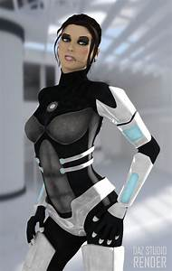 Scifi 3D armoured female suit for Daz studio and poser ...