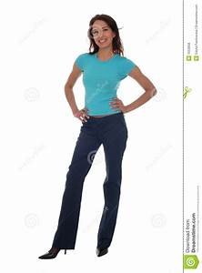 Woman Standing stock photo. Image of standing, white ...