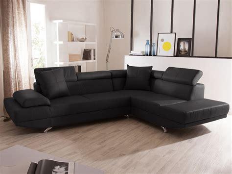 canape angle 5 places canapé d 39 angle fixe en cuir 5 places avec têtières