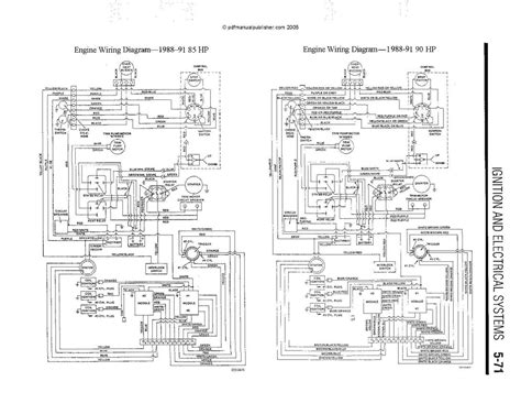 Force Outboard Colored Wiring Diagram Issue