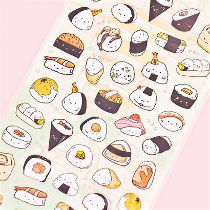 Stickers Sushi Onigiri Nekoni Kawaii Blippo