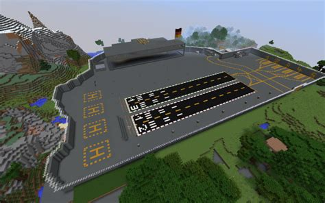 Alpha Military Base Minecraft Project