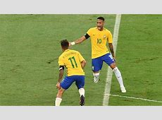 Liverpool's Philippe Coutinho scores a beauty for Brazil v