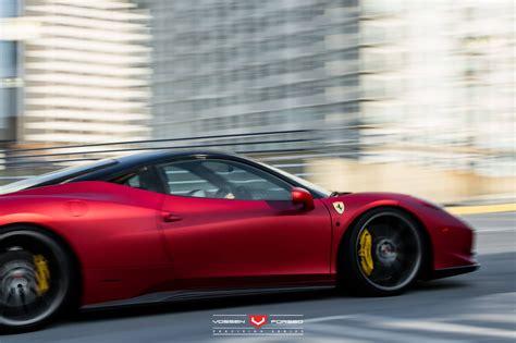 Rosso Fuoco Opaco And Bianco Ferrari 458 Italia Duo With