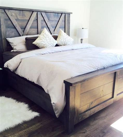 wooden headboard barn door farmhouse bed barn doors barn and