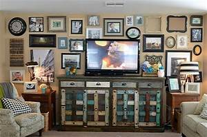 Ideas about decorating wall behind the tv betty moore