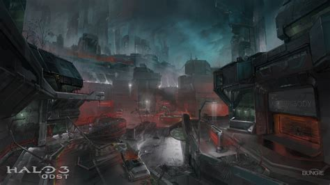 Halo 3 Odst New Concept Art Halo 3 Odst Giant Bomb