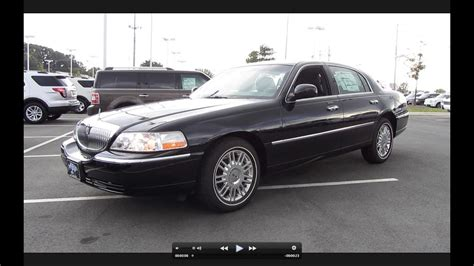 2011 Lincoln Town Car by 2011 Lincoln Town Car Signature Limited Start Up Exhaust