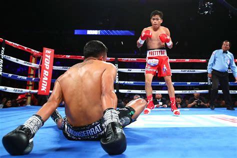 jerwin ancajas knocks  foe   world title