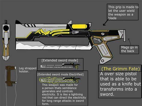 Grimm Fate Rwby Weapon By Iangwalker On Deviantart