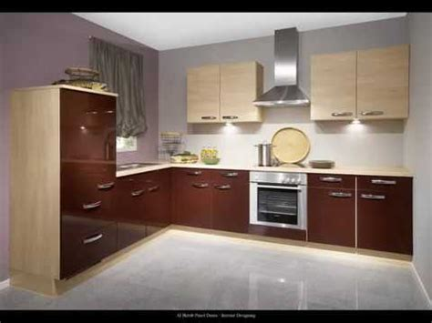 Modern Uv High Gloss Kitchen Cabinet Designs  Al Habib