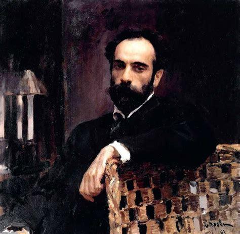Russian intelligentsia in the portraits by Valentin Serov ...