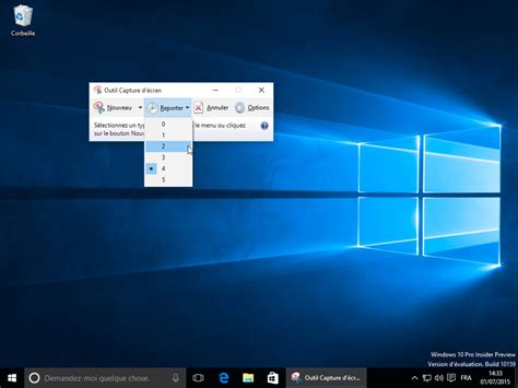 comment faire une capture d 39 écran sous windows 10