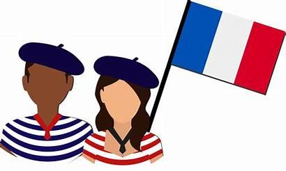 French Culture Clipart Language Contribute Representing Transparent