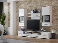 tv wall units Alto 1 - living room white wall unit / entertainment ...