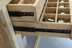 Construire Un établi En Bois : fabrication un pseudo tabli support de perceuse ~ Premium-room.com Idées de Décoration