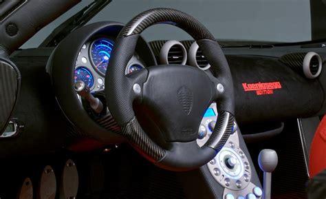 koenigsegg car interior car and driver
