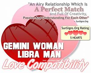 Gemini Woman Libra Man The Perfect Passionate Match