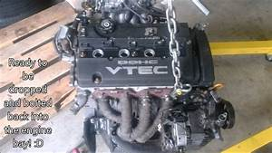Honda Prelude Bb6 H22a4 Engine Swap  U0026 Build
