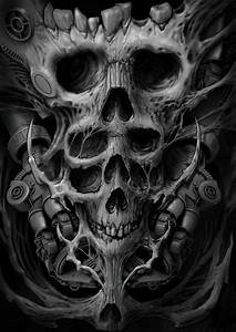Morbid Fantasy | Skulls in 2019 | Tête de mort, Peinture ...