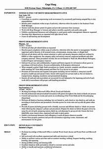 Call Centre Resume Sample Front Desk Representative Resume Samples Velvet Jobs