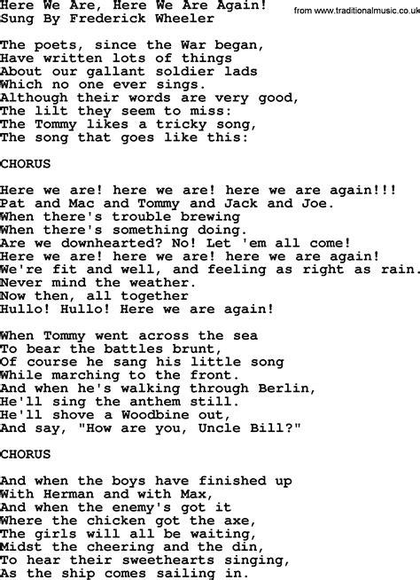 We Are The World Testo Italiano by We Are Here Lyrics