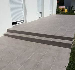 photo de terrasse en carrelage atlubcom With photo de terrasse en carrelage