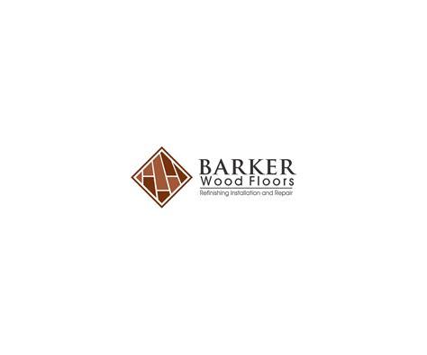 floor logo masculine bold logo design for barker wood floors by ashu design 6830648
