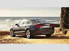 2013 Audi A5, A7 Sportback models make room for five
