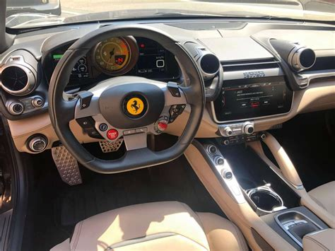 The interior has some nicely evolved details from the ff. Ferrari Gtc4lusso Interior