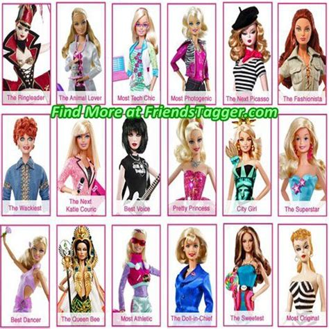 Barbie And Friends Dolls  Tag Your Friends As Barbie