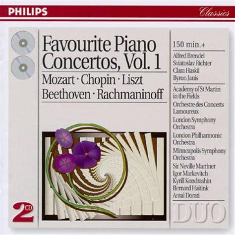 Favourite Piano Concertos, Vol1  Various Artists Songs