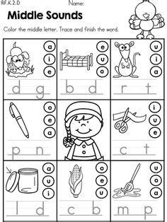 cvc worksheets  google search kindergarten language