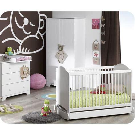 acheter chambre bébé chambre bébé complète nature blanche sans mat achat
