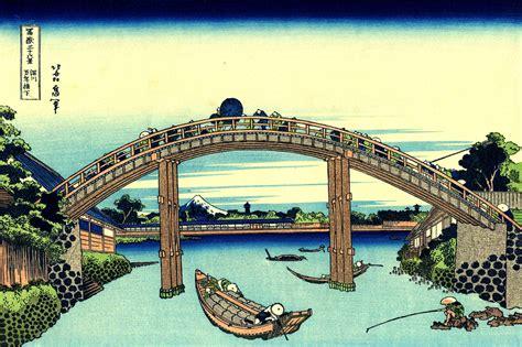 36 vues du mont fuji 深川万年橋下 36 vues du mont fuji