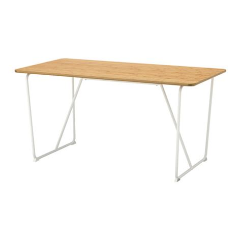 Ikea Tisch Bambus by Ikea 214 Vraryd Table Backaryd White Table Top Made Of