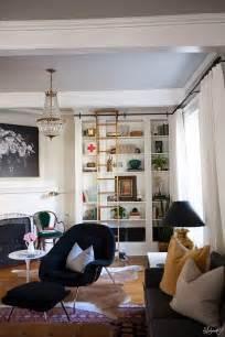 Living Room Bookshelf Wall by The Makerista Lauras Living Room Ikea Billy Bookshelves