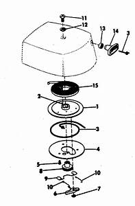 Rewind Starter Parts For 1972 2hp 2202m Outboard Motor