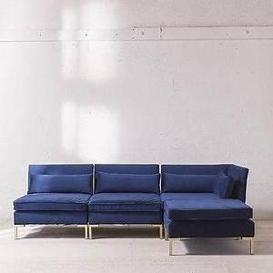 gold velvet sofa sven u0027grass greenu0027 sectional i With gold velvet sectional sofa