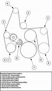 34 Ford F250 Serpentine Belt Diagram