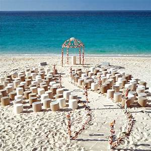21 fun and easy beach wedding ideas With ideas for beach weddings