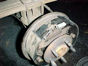 2006 Ford Ranger  The Rear Drum Brakes  Assembly  Springs